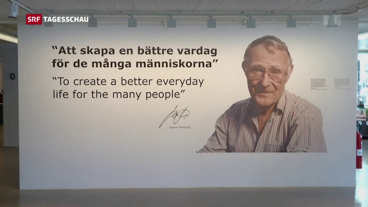Ikea-Gründer Kamprad gestorben