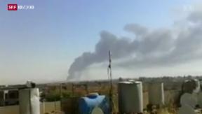 Video «Isis-Rebellen weiter auf Vormarsch» abspielen