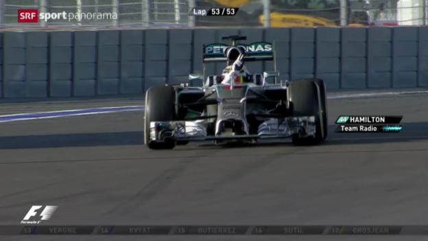 Video «Formel 1: GP von Russland» abspielen