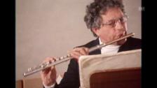 Video «Aurèle Nicolet spielt im Künstlerhaus Boswil («Schauplatz», 1994)» abspielen