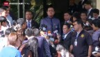 Video «Wieder Bombenanschlag in Bangkok» abspielen