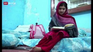 Video «Friedensnobelpreis für Recht auf Bildung» abspielen
