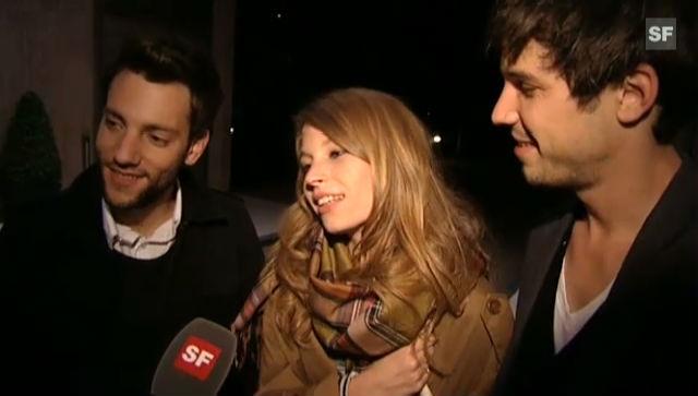 Anna Rossinelli im Interview nach ihrem Auftritt
