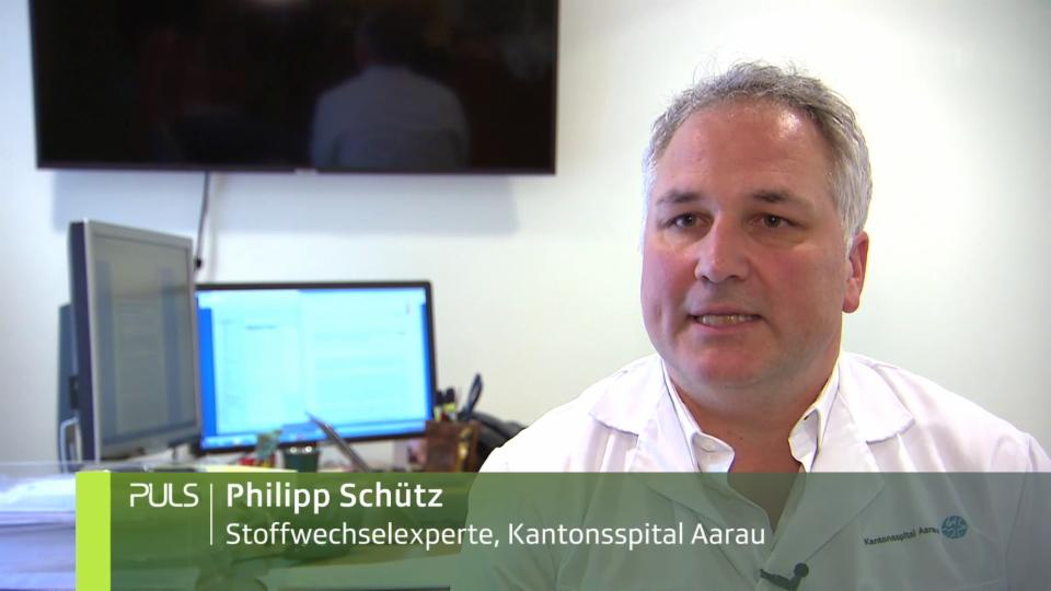 Philipp Schütz untersuchte mit seinem Team, wie sehr die angereicherten Menüs den Krankheitsverlauf beeinflussen.