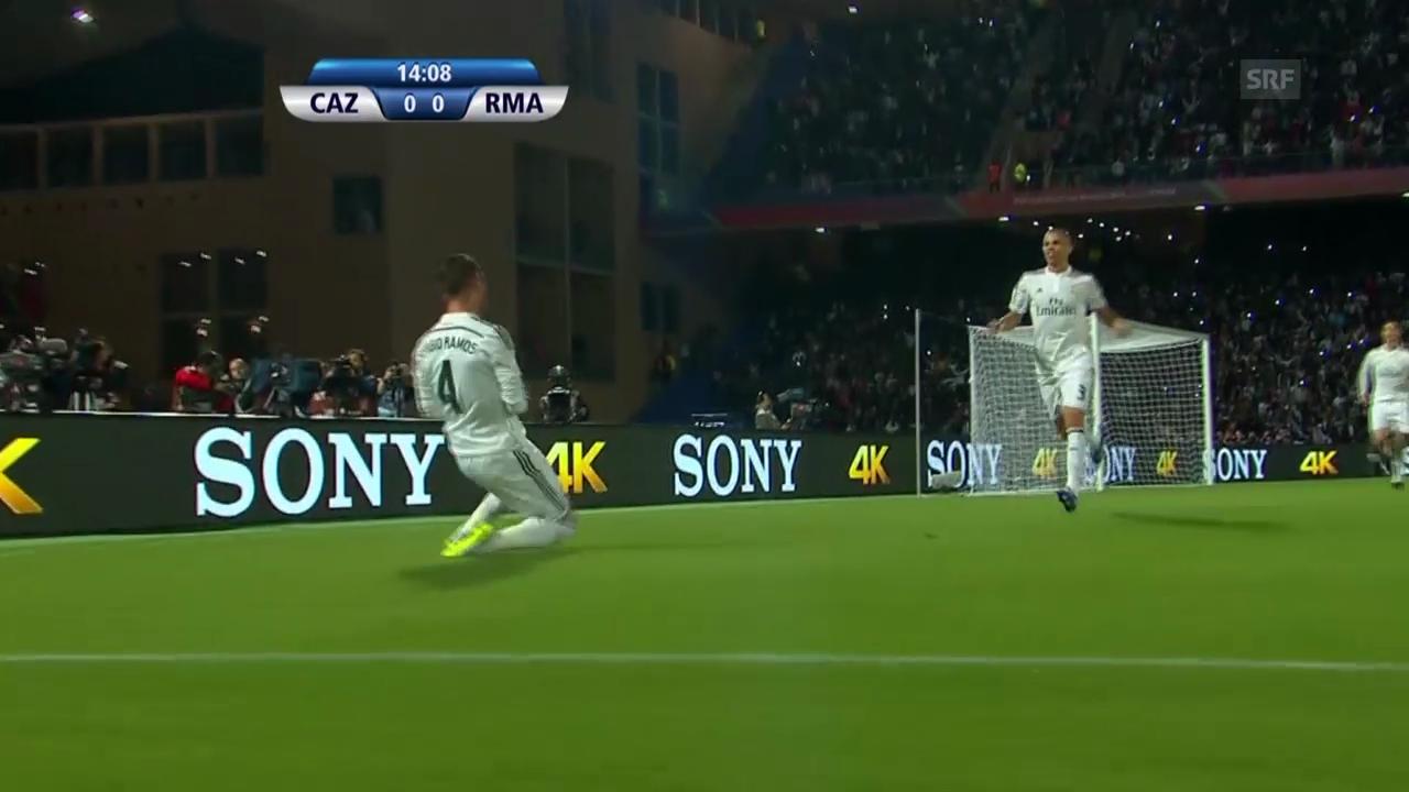 Fussball: Klub-WM, Halbfinal, Cruz Azul - Real Madrid