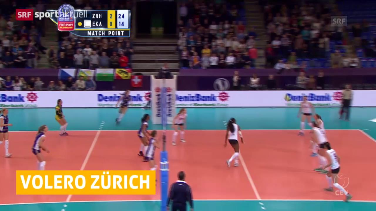 Volleyball: Volero mit Startsieg («sportaktuell»)