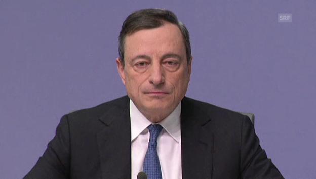 Video «Draghi zur Rolle der EZB» abspielen