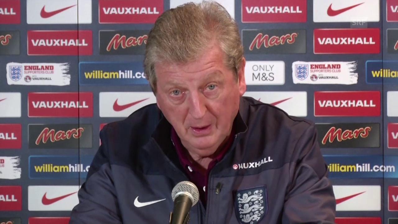 Fussball: Freundschaftsspiel England - Frankreich, Quote Hodgson
