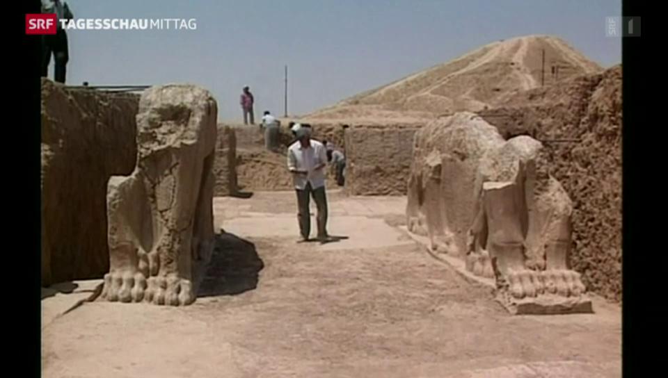 Bildersturm in Nimrud