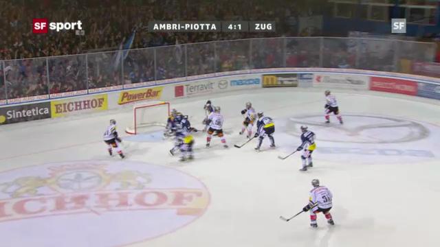 Eishockey: Helbling trifft gegen Ambri