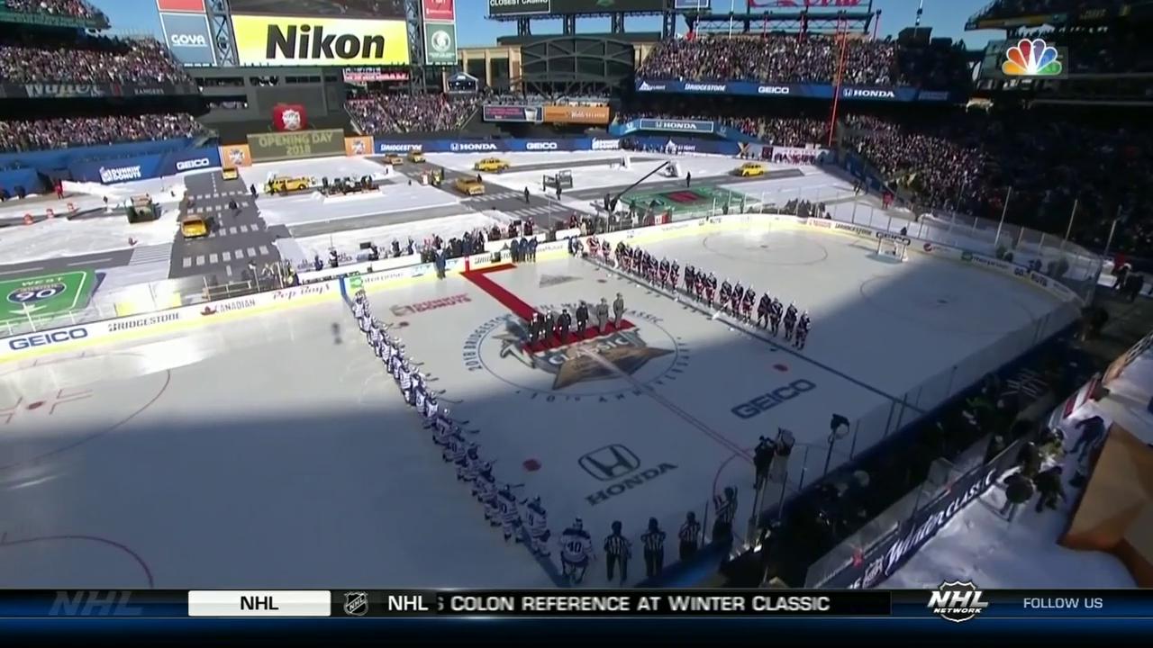 Die Rangers gewinnen die Winter Classic gegen Buffalo