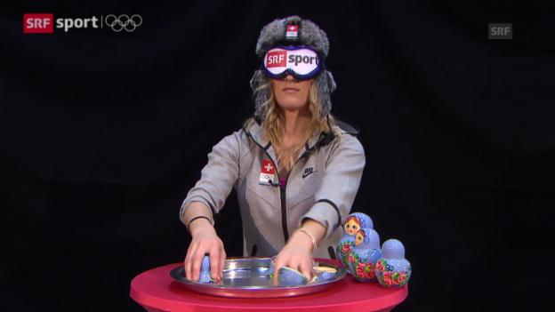 Video ««Udatschi» mit Sanna Lüdi (sotschi aktuell, 15.02.2014)» abspielen