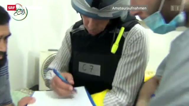 UNO-Experten am Ort der Giftgasanschläge