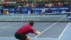 Video «Wawrinka verliert gegen Benneteau» abspielen