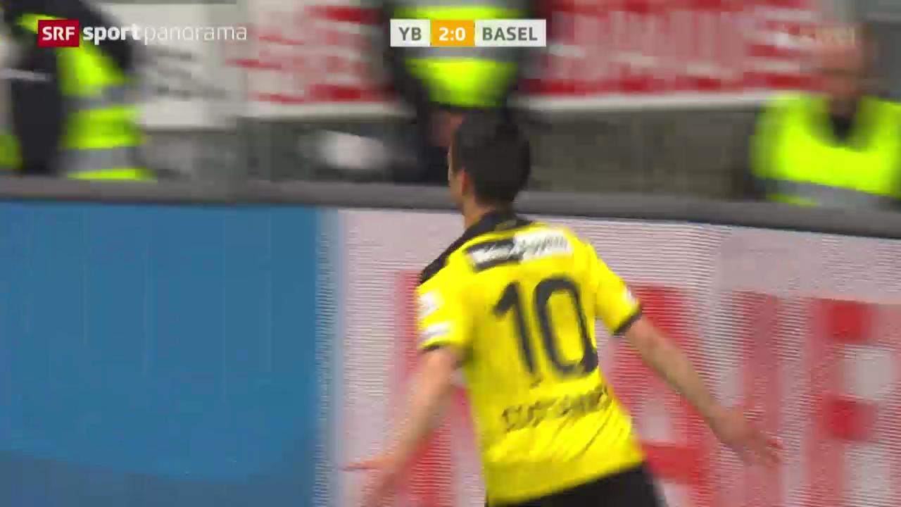 Fussball: YB - Basel