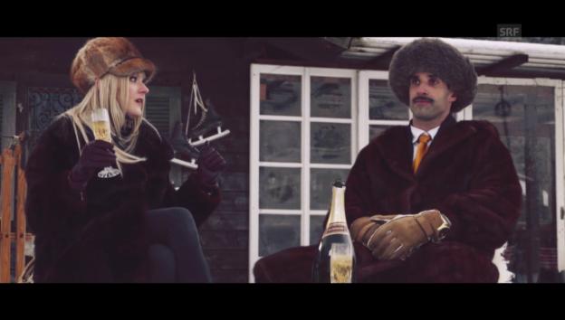 Video «Chic im Schnee: Kuhglocken» abspielen