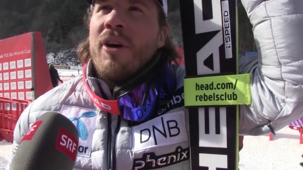 Video «Jeongseon-Sieger Kjetil Jansrud im Interview» abspielen