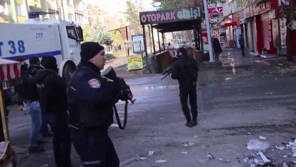 Einsatz gegen PKK in Diyarbakir