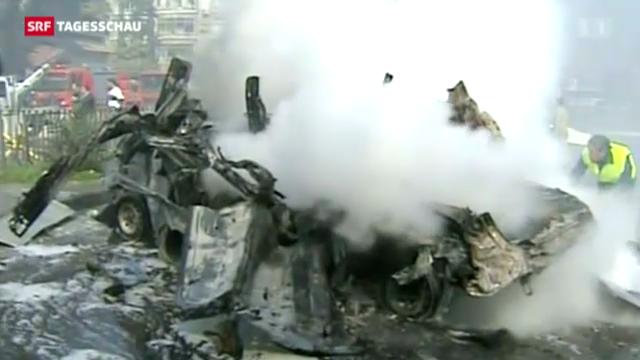 Schwere Explosion im Zentrum der syrischen Hauptstadt