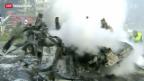 Video «Schwere Explosion im Zentrum der syrischen Hauptstadt» abspielen