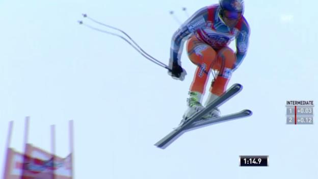 Video «Ski: Weltcup, Abfahrt Männer Bormio» abspielen