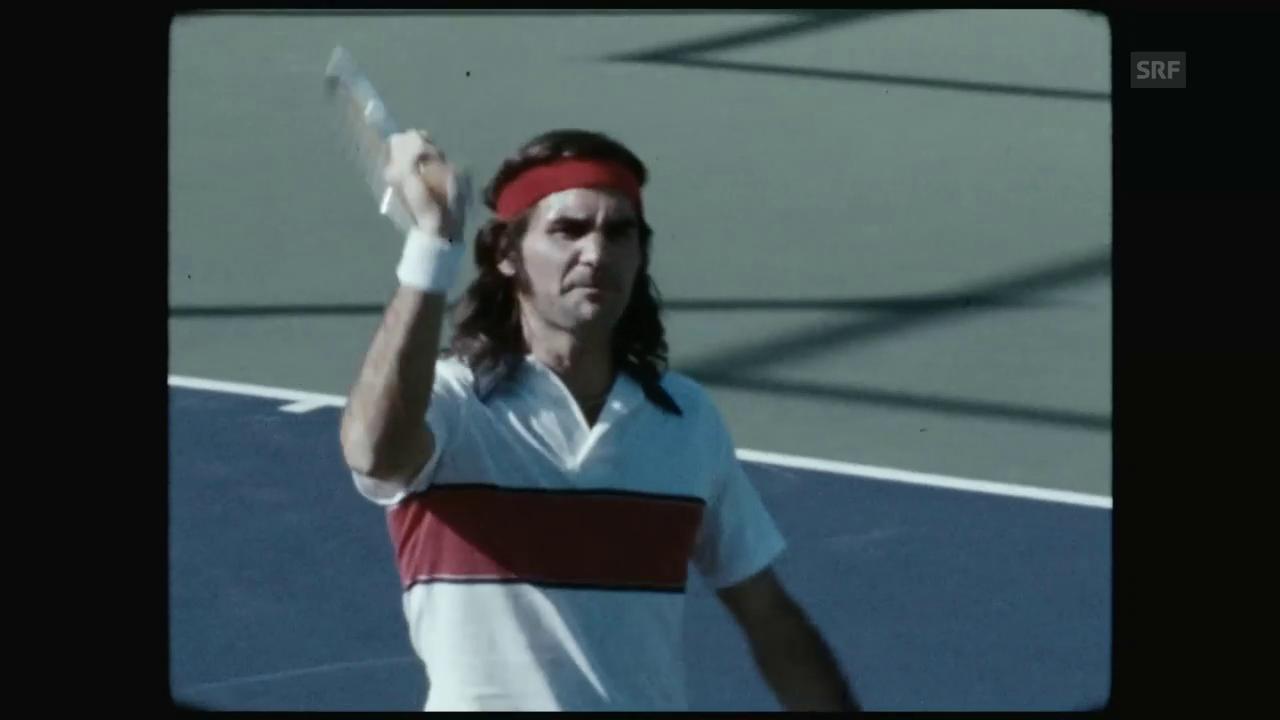Roger Federer als John McEnroe