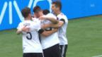 Video «Zusammenfassung Deutschland-Australien» abspielen