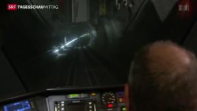 Video «Gotthardbasis-Tunnel » abspielen