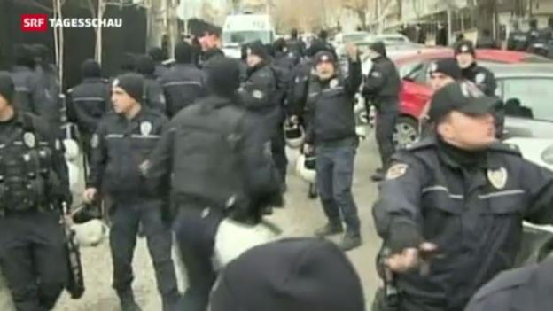 Video «Anschlag auf US-Botschaft in Ankara» abspielen