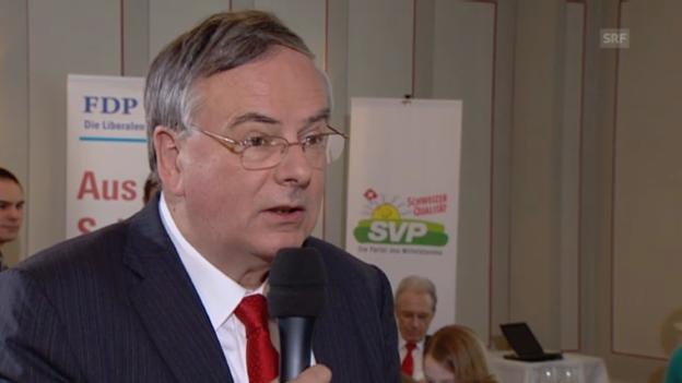 Video «Jean-François Rime: «Wir haben nichts gegen Verdichtung»» abspielen