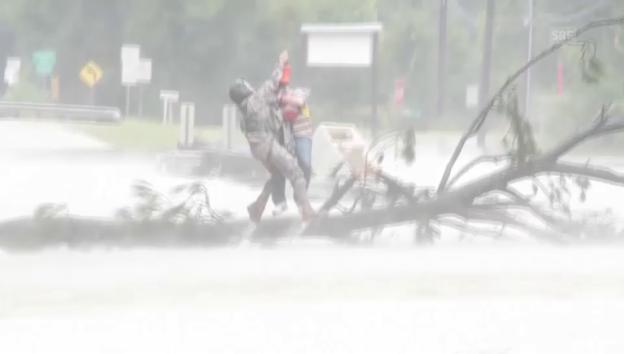 Video «Rettungen in letzter Minute in Louisiana (unkomm.)» abspielen