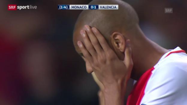 Video «Fussball: Monaco-Valencia» abspielen