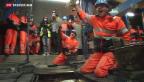 Video «Gotthard-Basistunnel durchgehend befahrbar» abspielen