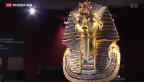 Video «Tutanchamun-Ausstellung in Genf» abspielen