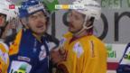 Video «Langnau feiert Derby-Sieg gegen Biel» abspielen