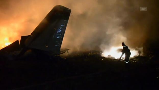 Video «Flugzeugabsturz» abspielen