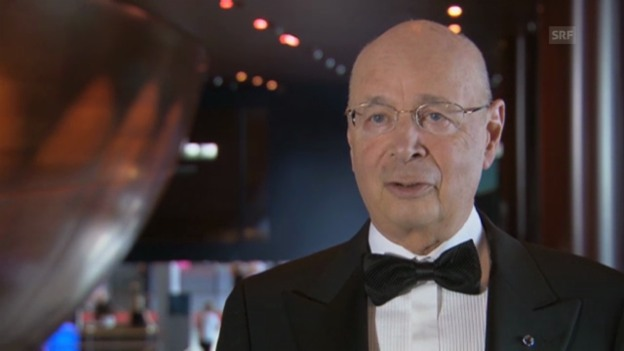 Video «Klaus Schwab: «Was in der Musik gilt, wünsche ich mir auch für die Politik.»» abspielen