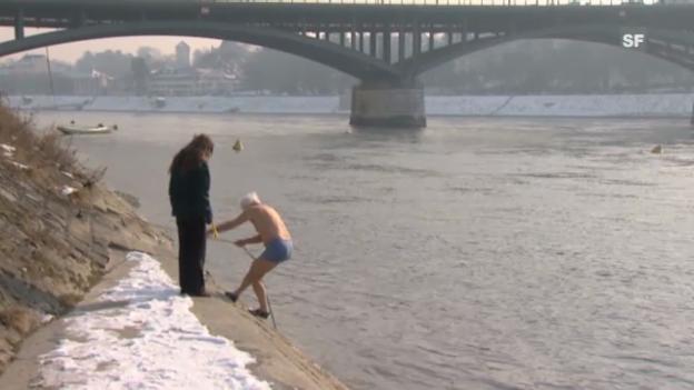 Video «Schwimmer Kleinbasel» abspielen