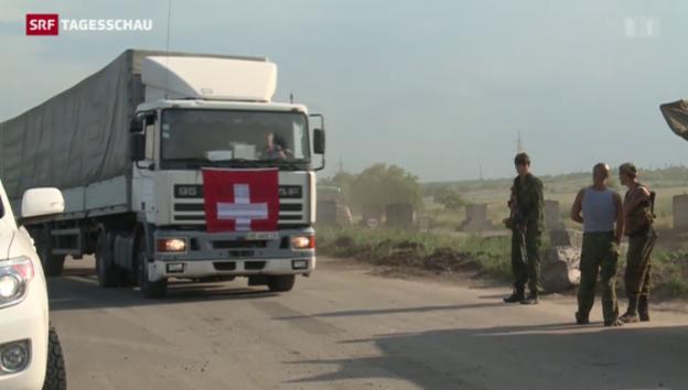 Video «Schweizer Hilfe für die Ukraine» abspielen