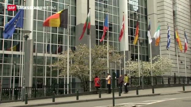 Video «EU weiter in der Rezession» abspielen