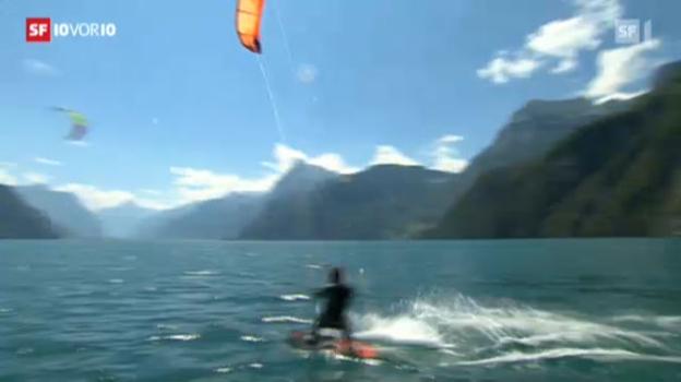 Video «Kitesurfen zulassen oder verbieten?» abspielen