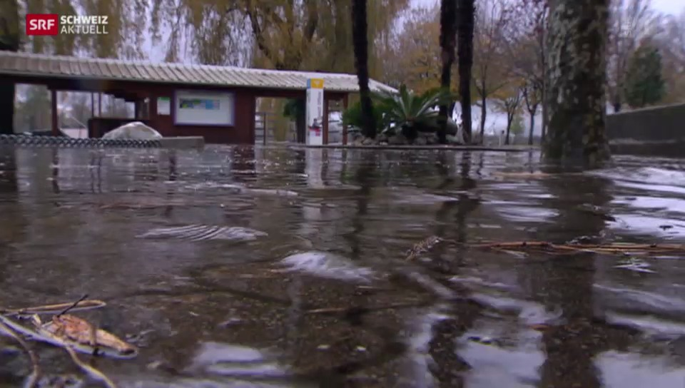 Hochwasser in Locarno