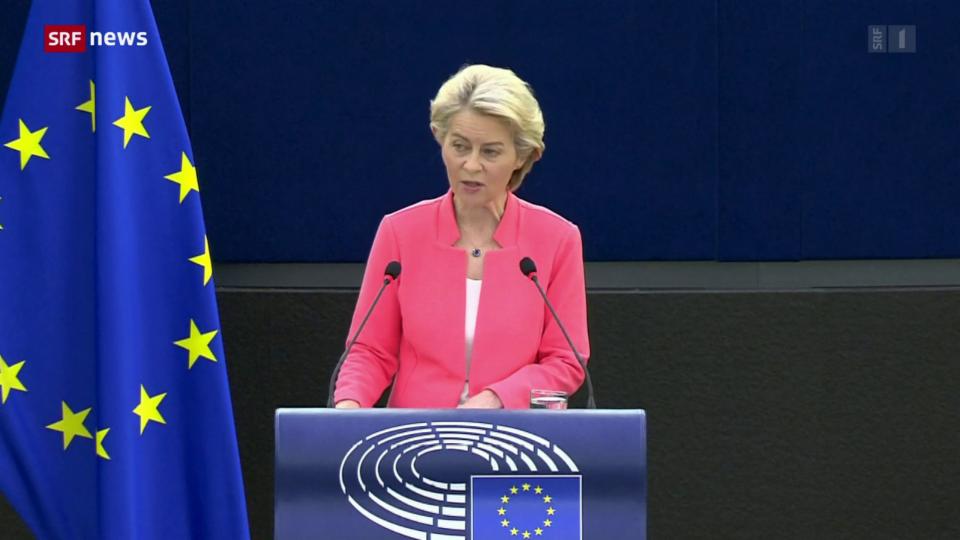 Ursula von der Leyens Rede zur Lage der Union