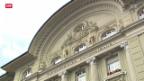 Video «SNB will hilfesuchenden Banken nicht unter die Arme greifen» abspielen