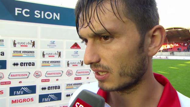 Video «Fussball: Interview mit Beg Ferati» abspielen