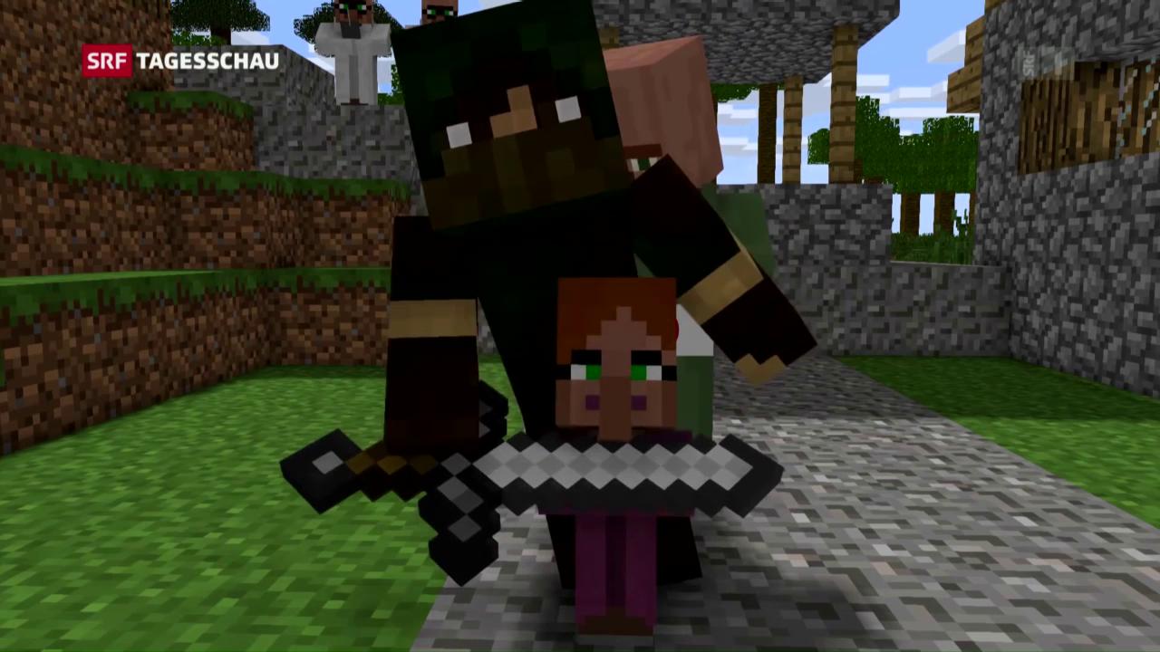 Schweiz Die Eltern Müssen Sich über Die Spiele Ihrer Kinder - Minecraft im netz spielen