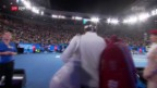 Video «Das perfekte Comeback Federers in Melbourne» abspielen