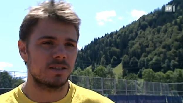 Video «Schweizer Olympia-Hoffnungen – Teil 4: Stanislas Wawrinka» abspielen