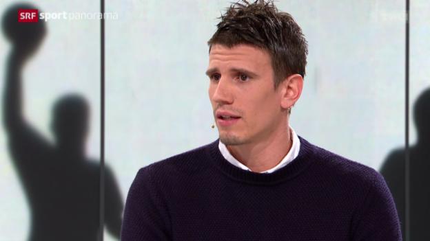 Video «Handball: Studiogast Andy Schmid» abspielen