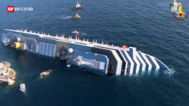 «Costa Concordia»: Die Suche nach Überlebenden
